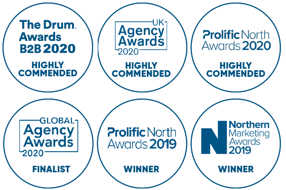 Move Marketing; Highly Commended and Award Winning throughout 2020
