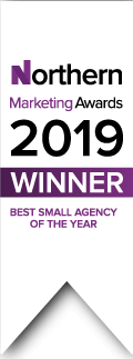 Northern Marketing Awards 2019 - Best Small Agency of the Year - Winner!